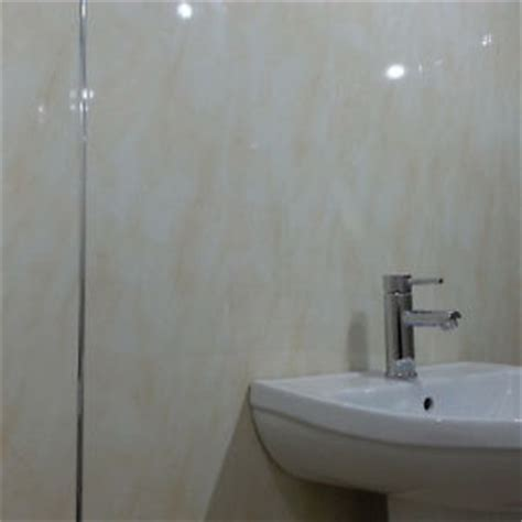 Bathroom Wall Building Materials by 5 Beige Marble Pvc Wall Panels Bathroom Cladding Wall