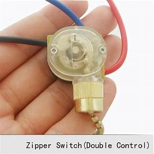 3a Zipper Switch Retro Pull Ceiling Light Wall Lamp