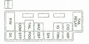 2003 Chevy Tracker Dash Fuse Box Diagram  U2013 Circuit Wiring