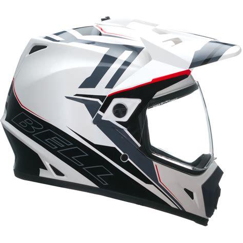 white motocross helmet bell mx 9 adventure barricade white motocross helmet mx