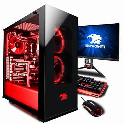 Gaming Pc Computer Desktop Clipart Pcs Ibuypower