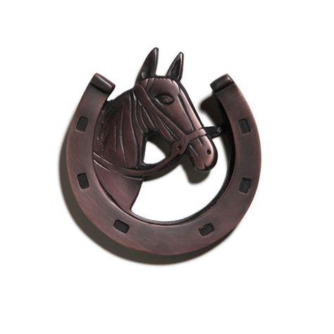 Lucky Horseshoe Door Knocker - Hardware