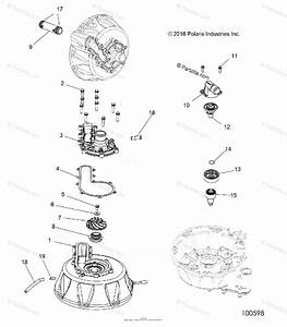 Polaris Atv 2017 Oem Parts Diagram For Engine  Cooling