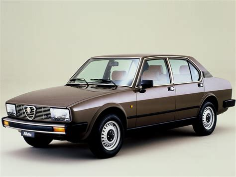 Automotive Database Alfa Romeo Alfetta