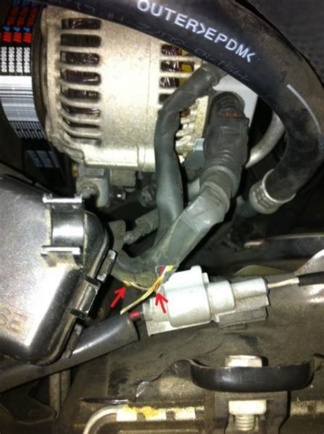 alternator wire harness severed wire pic included