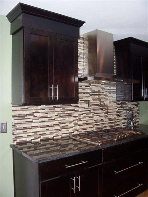 Kitchen Island Manufacturers - espresso shaker cabinets