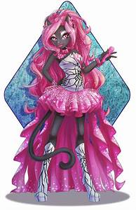 All About Monster High Catty Noir Fan Art Monster High