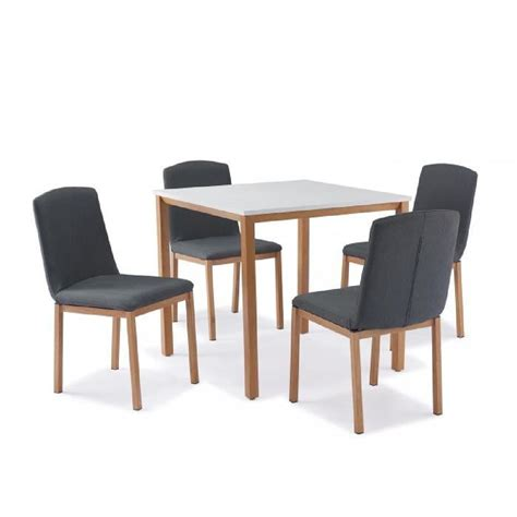 table a manger plus chaise table carrée 4 chaises scandinave achat vente table