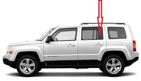 jeep patriot back rear vent glass driver side jeep patriot 4 door utility