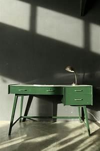 Bureau 60 Cm : super retro vintage bureau jaren 60 groen wit dehuiszwaluw ~ Teatrodelosmanantiales.com Idées de Décoration