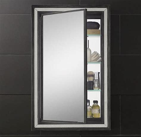 black medicine cabinet with mirror black border strand mirrored medicine cabinet