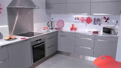 cuisine faible profondeur les meubles de cuisine stria gris