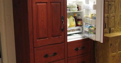 kitchen timeless kitchen cabinetry hide  refrigerator  idea  colonial  tad bit