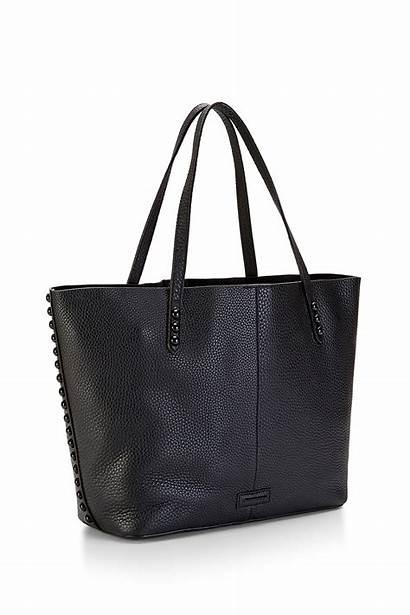 Tote Minkoff Rebecca Bag Leather Studded Pebbled