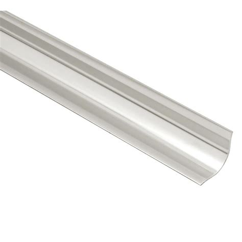 schluter eck khk brushed stainless steel 9 16 in x 8 ft