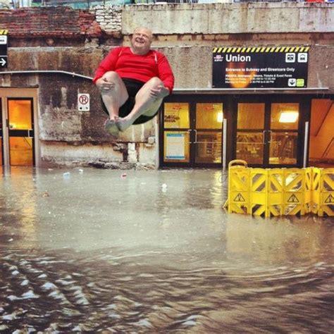 Flooded Basement Meme - near catastrophic failure of detroit sewage pumps caused detroit floods toledo water crisis