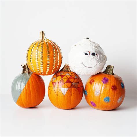decorated pumpkins 5 non carving pumpkin decorating ideas 183 kix cereal