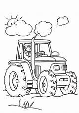 Tractor Coloring Pages Print Printable sketch template
