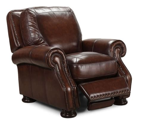 leather recliners antique carlton antique espresso press back recliner from simon li 3700