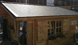 Toiture legere, tuile et ardoise pour abri de jardin, chalet, maison bois, garage, toiture