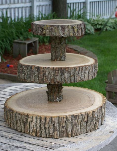3 tier tree slice large cupcake stand cupcake stands