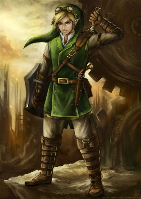 Steampunk Link The Legend Of Zelda Fan Art 32056992