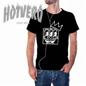 T Shirt Keith Haring : jean michel basquiat crown keith haring t shirt ~ Melissatoandfro.com Idées de Décoration
