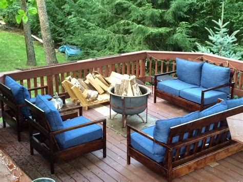 Patio Deck Furniture furniture for the deck do it yourself home projects from