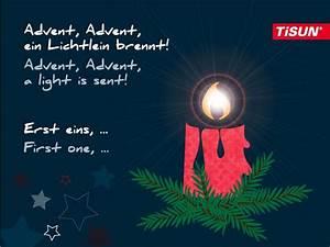 Happy 1 Advent : tisun wishes a happy first advent sunday tisun w nscht ~ Haus.voiturepedia.club Haus und Dekorationen