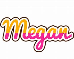 Megan Logo | Name Logo Generator - Smoothie, Summer, Candy ...