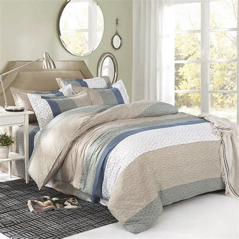 king quilt covers microgroove single king size bed set