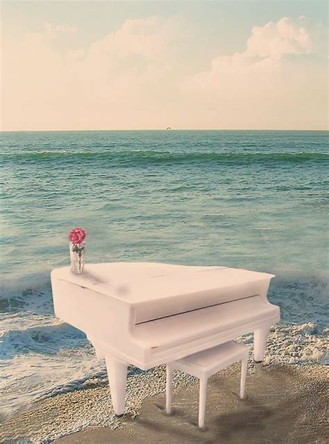 someday i will play a white piano on a beautiful in