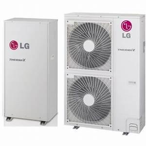 Pompe A Chaleur Reversible Air Air : pompe chaleur air eau lg climatisation hn1610h nk2 hu161h u32 16 0 kw bi bloc haute ~ Farleysfitness.com Idées de Décoration