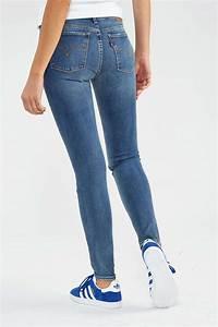 Jean Bleu Troué Femme : levi 39 s jeans levi 39 s 710 super skinny bleu stone destroy femme skinny livraison et retour gratuits ~ Melissatoandfro.com Idées de Décoration