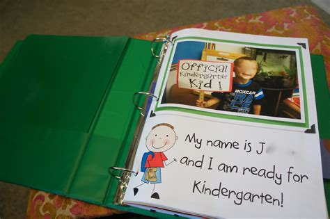 images sight word practice for kindergarten best 508 | kindergarten kiosk creating a portfolio memory book measuring growth one sample at a time