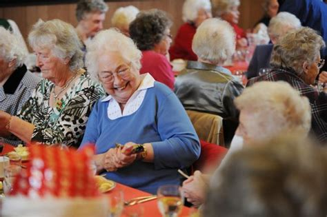 christmas elderly day lunches for elderly sadly spending the festive season alone get surrey