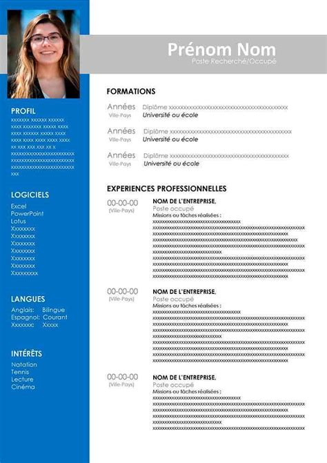 Cv Word Model by 3 Mod 232 Les De Cv Word Gratuits 224 T 233 L 233 Charger En 2019
