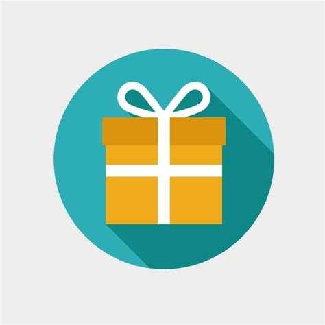 gift icon vector clip art graphics ai vector images 365psd com