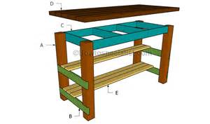 kitchen island blueprints diy kitchen island plans howtospecialist how to build