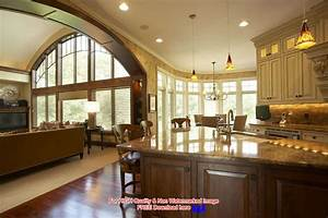decorating an open floor plan ideas acadian house plans With kitchen design open floor plan