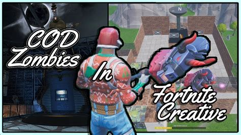 playing  zombies  fortnite creative mode custom map