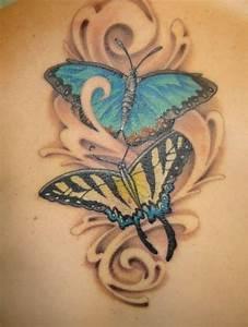 Bedeutung Schmetterling In Der Wohnung : tattoo schmetterling bedeutung des motivs 20 ideen f r frauen ~ Watch28wear.com Haus und Dekorationen