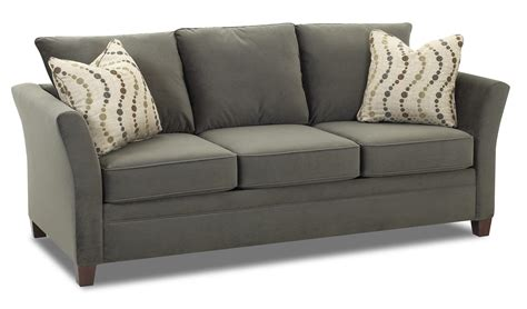 Sofa With Accent Pillows By Klaussner Wolf And Gardiner