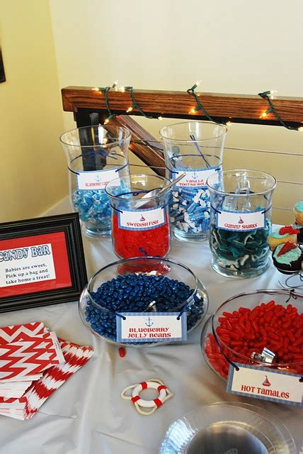 17 Best Ideas About Nautical Candy Bar On Pinterest