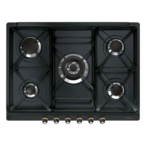 plaque de cuisson gaz plaque de cuisson gaz 5 smeg sr775as leroy merlin