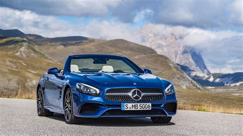 Mercedes Slc Class 4k Wallpapers by 2016 Mercedes Sl Wallpaper Hd Car Wallpapers Id 6045