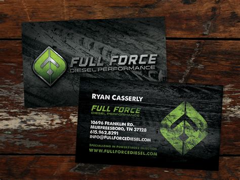 full force diesel  design