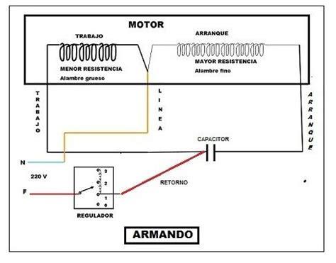 solucionado ventilador de techo cables al capacitor yoreparo electricidad en