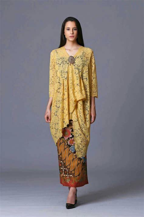 inspirasi kebaya fashion style  moda rabe