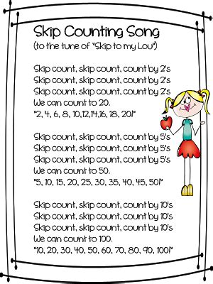 counting songs for preschool quot skip counting song quot from grade wow tune quot skip to 415